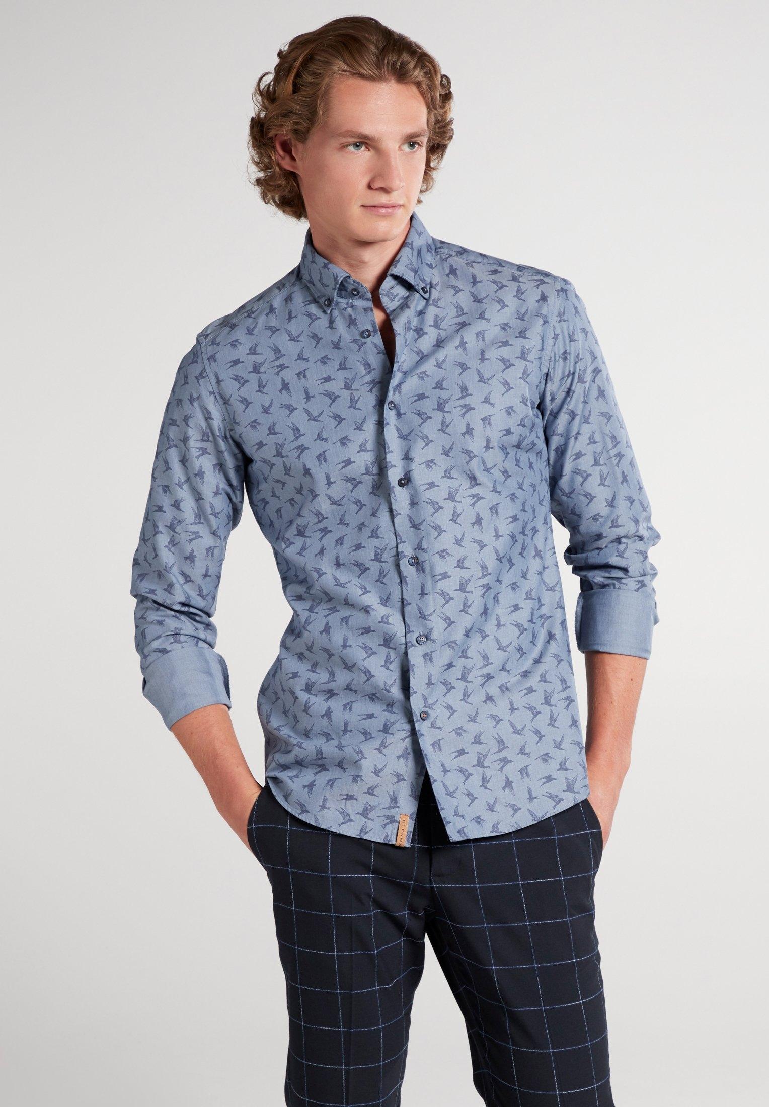 Eterna overhemd met lange mouwen Slim fit !lange mouwen overhemd goedkoop op otto.nl kopen