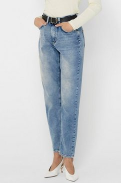 only mom jeans »onlveneda life« blauw