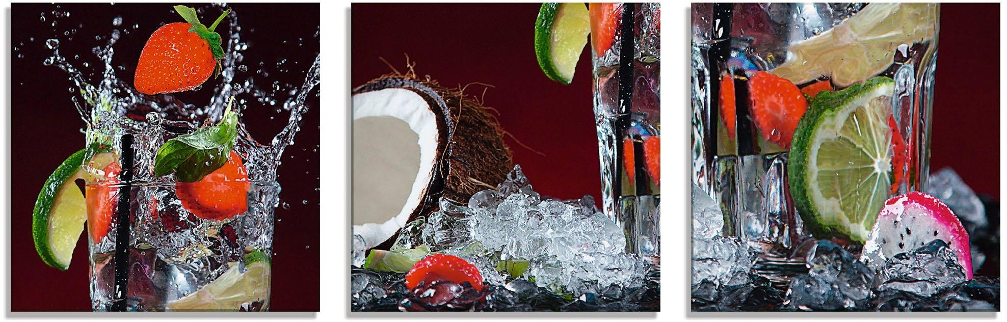 Op zoek naar een Artland print op glas Verse fruitcocktail I (3 stuks)? Koop online bij OTTO