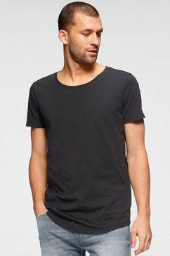 lee t-shirt »shaped tee« zwart