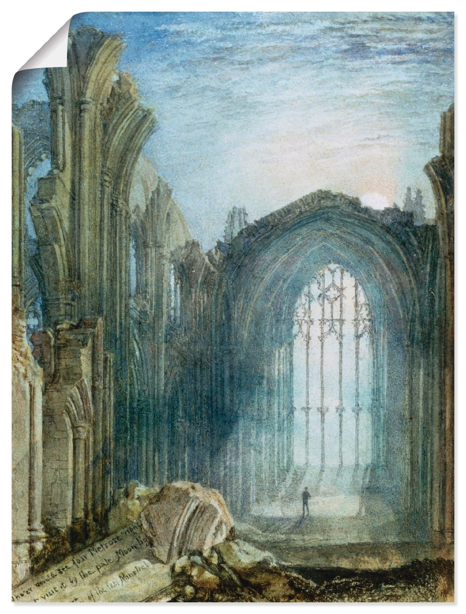 Op zoek naar een Artland Artprint Melrose Abbey in vele afmetingen & productsoorten -artprint op linnen, poster, muursticker / wandfolie ook geschikt voor de badkamer (1 stuk)? Koop online bij OTTO
