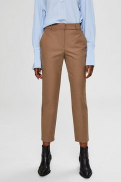 selected femme pantalon bruin
