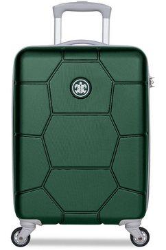 suitsuit harde trolley met 4 wieltjes, »caretta, 55 cm« groen