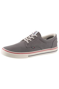 tommy jeans sneakers »vic« grijs