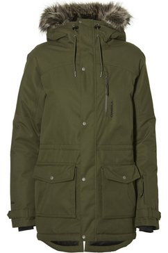 o'neill jackets snow »hybrid explorer parka« groen