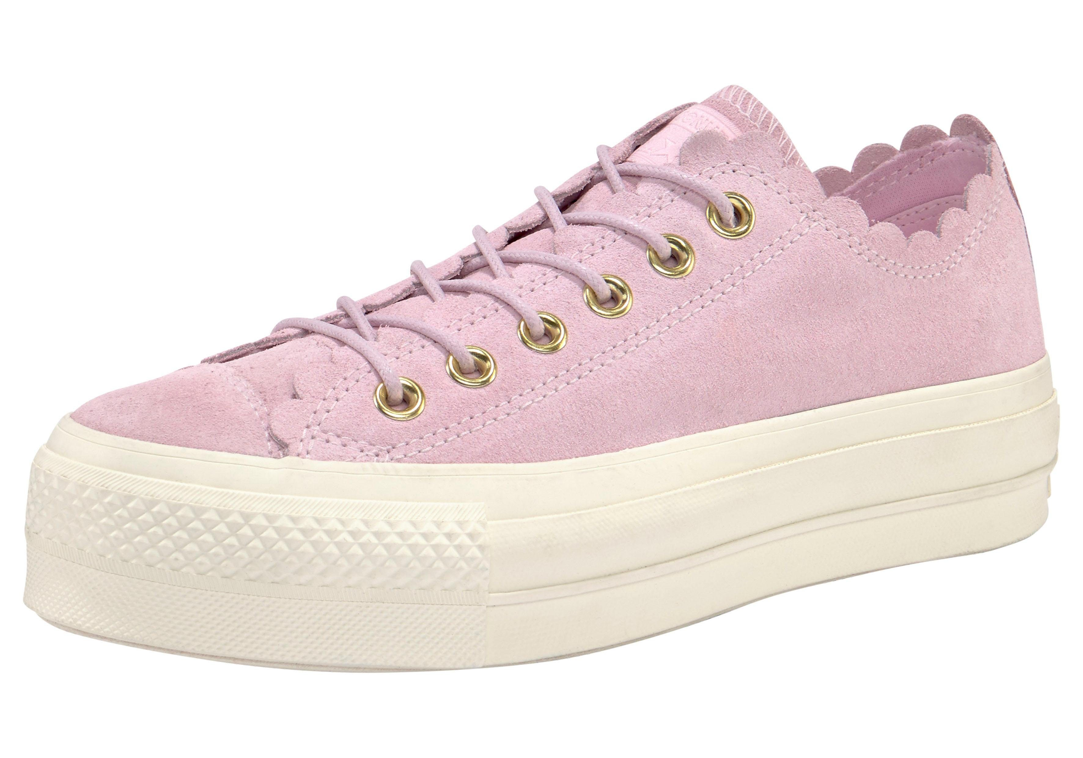 plateausneakers »Chuck Taylor All Star Lift Ox suèdeleer«