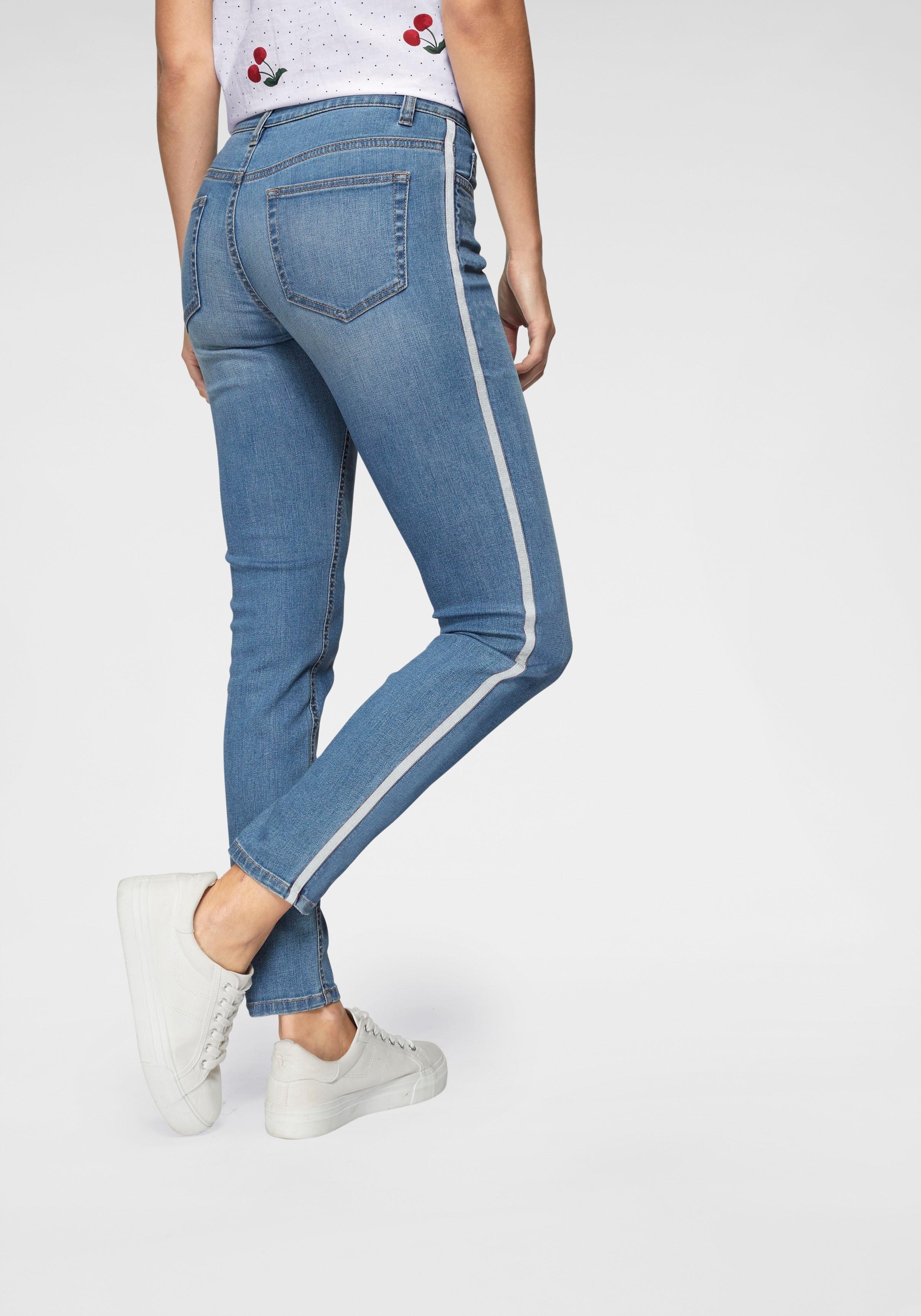 Aniston CASUAL skinny fit jeans low waist in de webshop van OTTO kopen