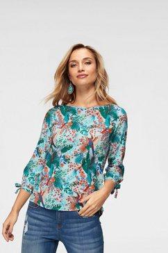 aniston by baur blouse zonder sluiting multicolor