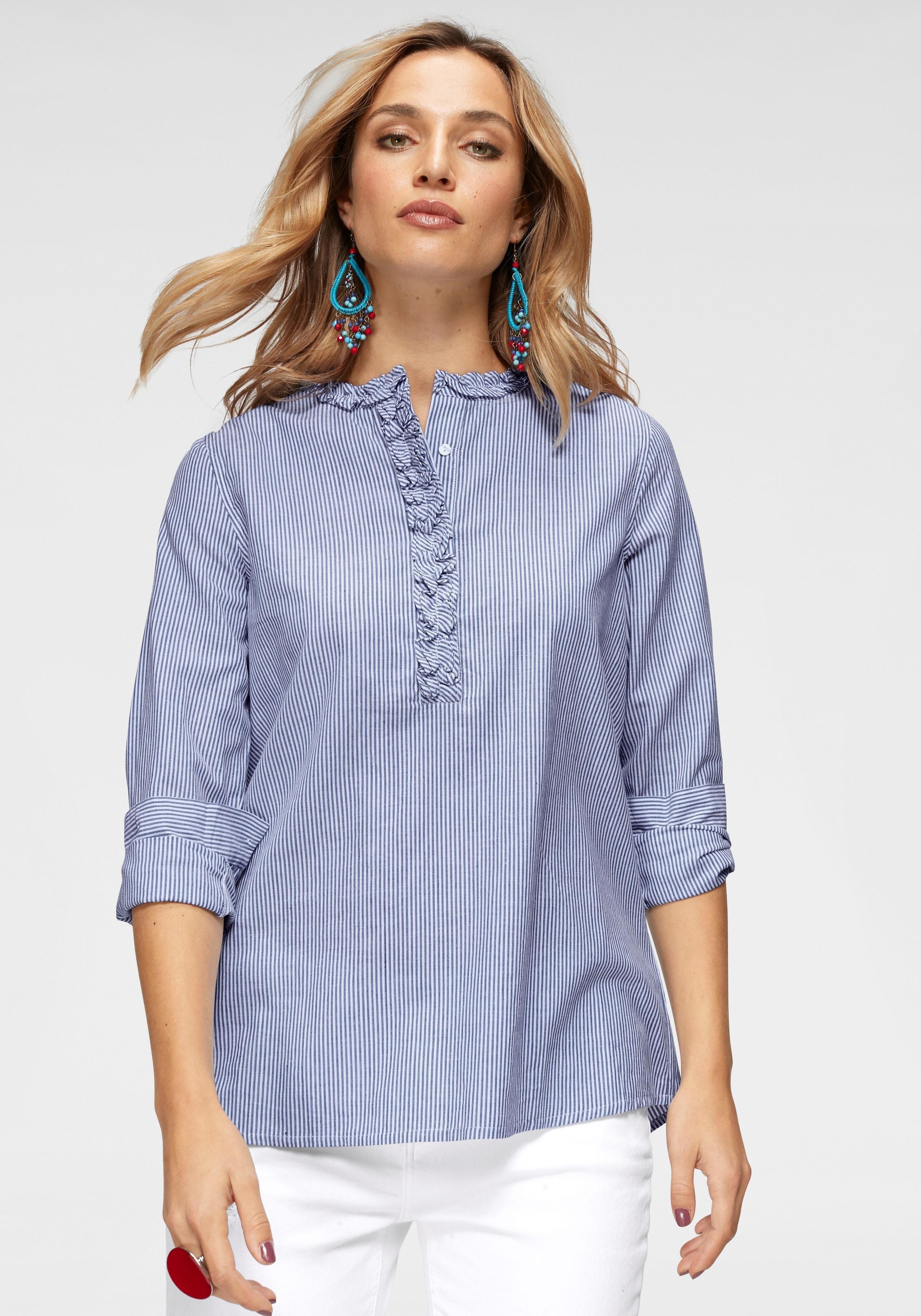 Aniston by BAUR lange blouse bij OTTO online kopen