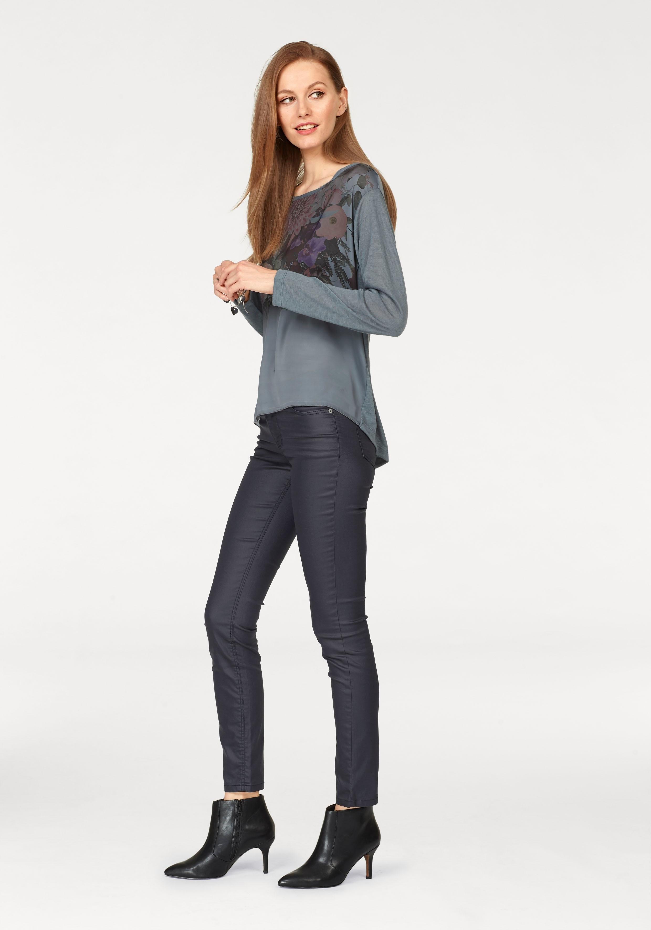 Shop Lange Scott Shirt Laura Met Mouwen Online MSzVLqUpG