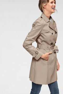 aniston casual trenchcoat bruin