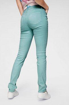 cheer slim fit jeans groen