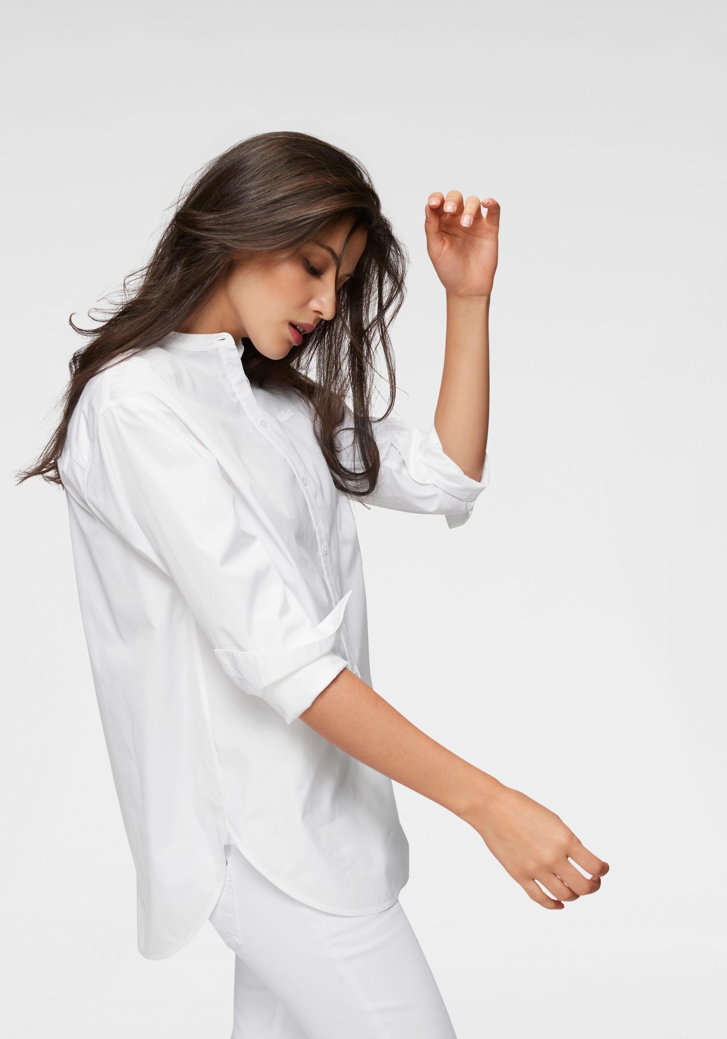 LACOSTE klassieke blouse goedkoop op otto.nl kopen