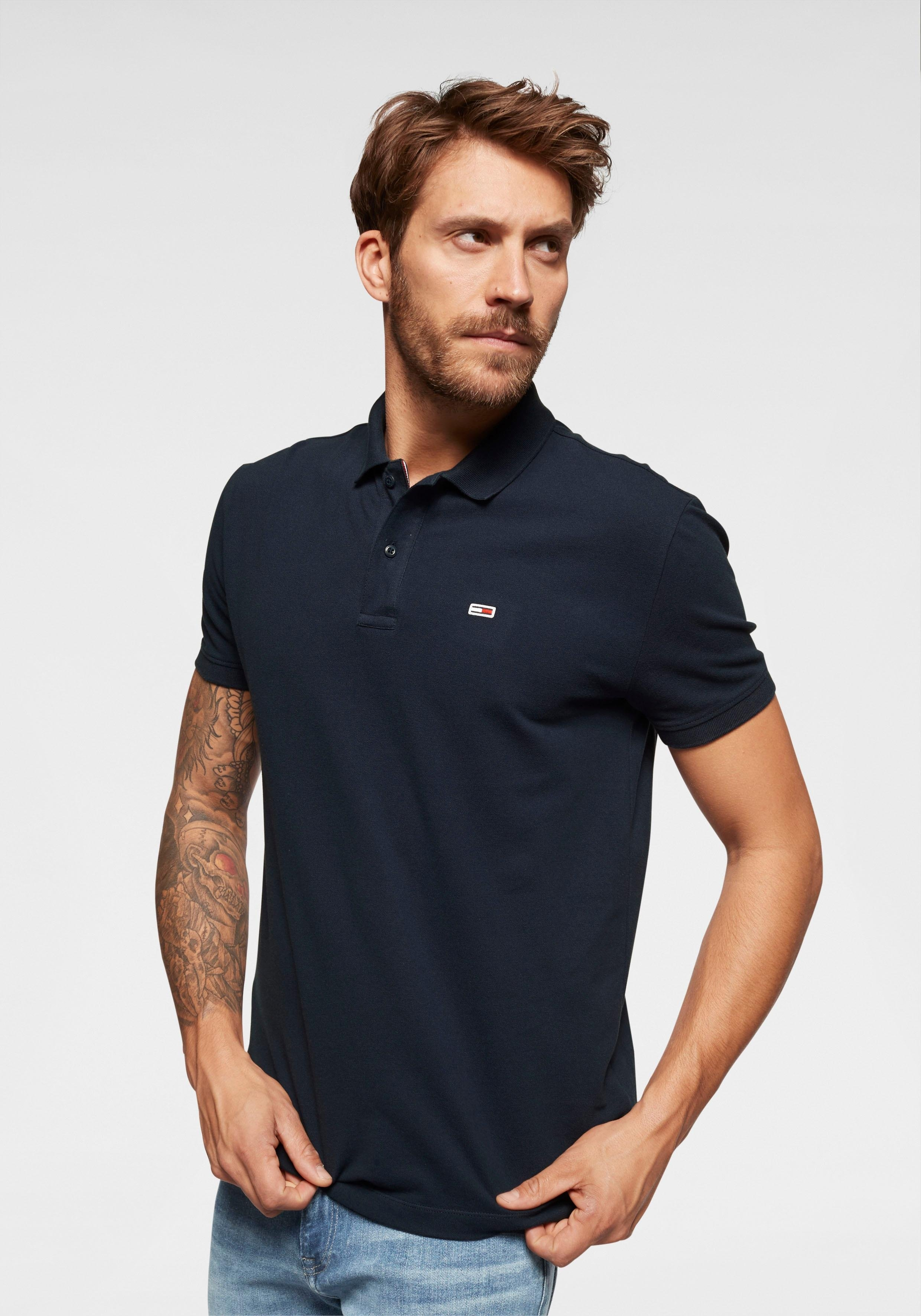 TOMMY JEANS poloshirt »TJM TOMMY CLASSICS SOLID POLO« online kopen op otto.nl
