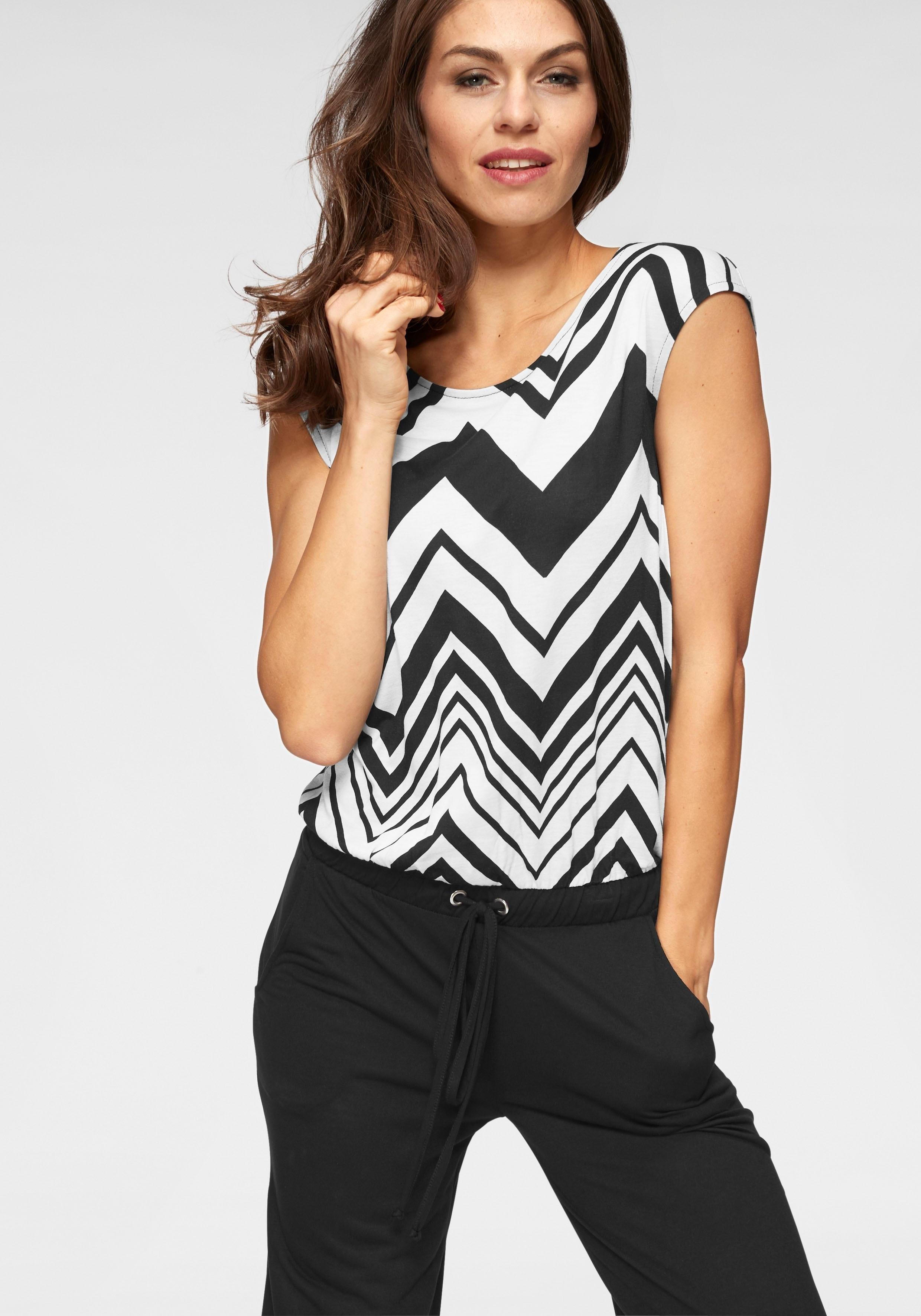 Aniston Selected Vivance jumpsuit nu online kopen bij OTTO