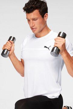 puma t-shirt »active tee« wit