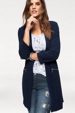 laura scott lange blazer blauw