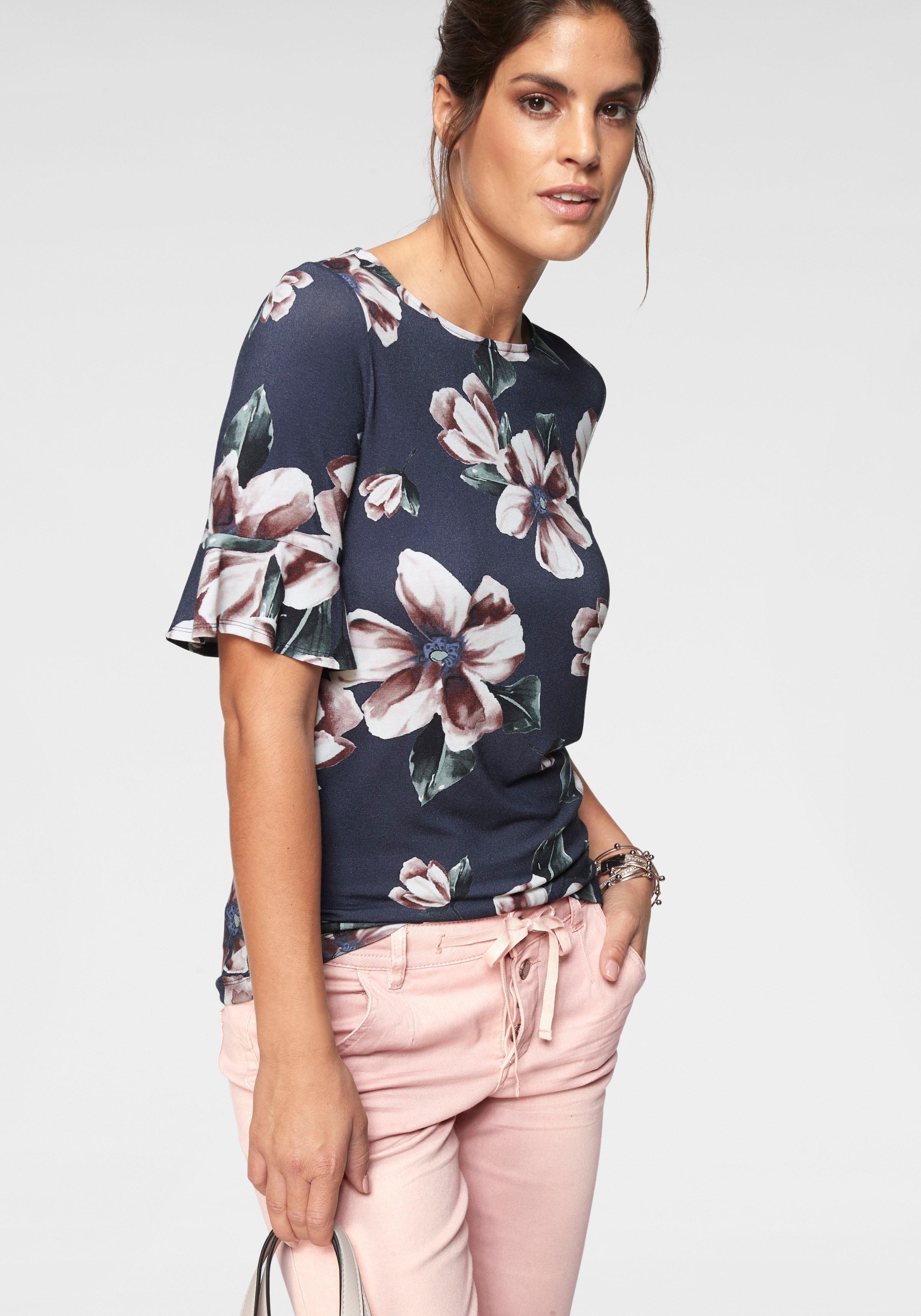 Laura Scott shirt met ronde hals - gratis ruilen op otto.nl