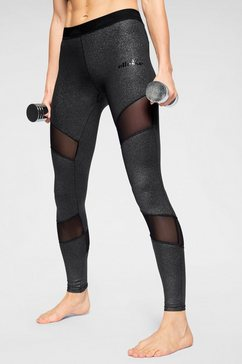 ellesse functionele tights »alunite« zwart