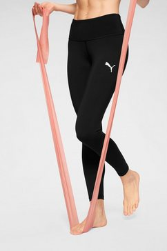 puma functionele tights zwart
