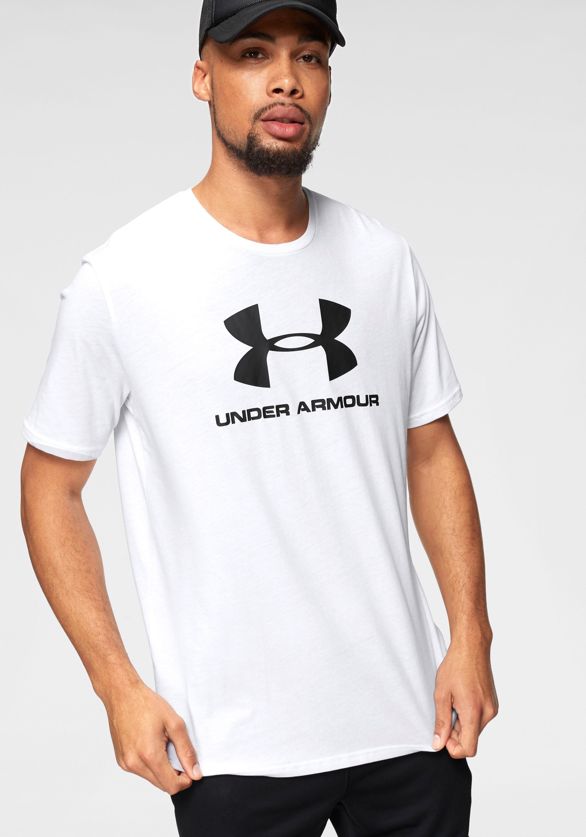 Under Armour® functioneel shirt »SPORTSTYLE LOGO SHORTSLEEVE« nu online bestellen