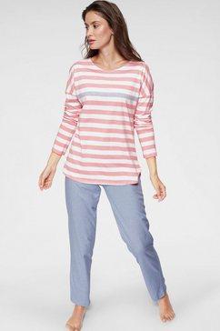 seidensticker pyjama roze