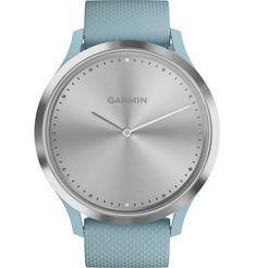 garmin vivomove hr sport (s-m) smartwatch (4,2 cm - 1,65 inch) zilver