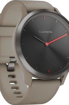 garmin vivomove hr sport (l) smartwatch (4,2 cm - 1,65 inch) zwart