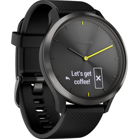 GARMIN vívomove HR Zwart L