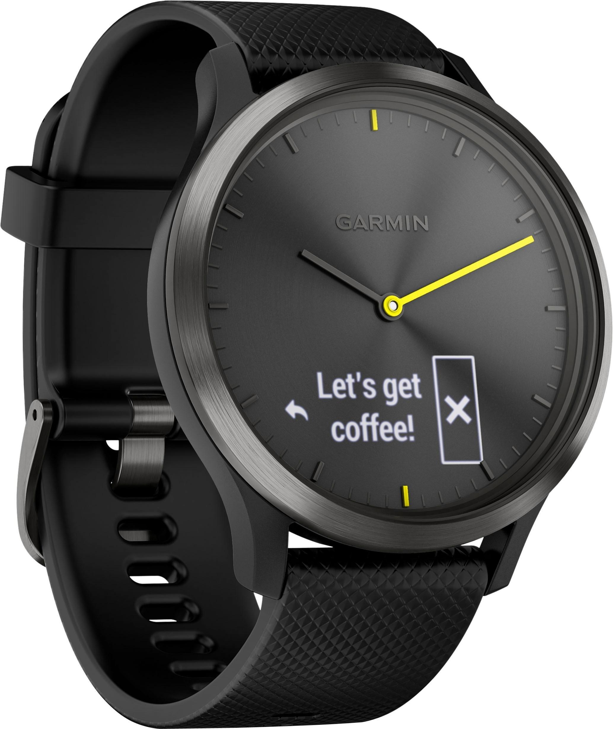 Garmin vivomove HR Sport (L) smartwatch (4,2 cm / 1,65 inch) in de webshop van OTTO kopen
