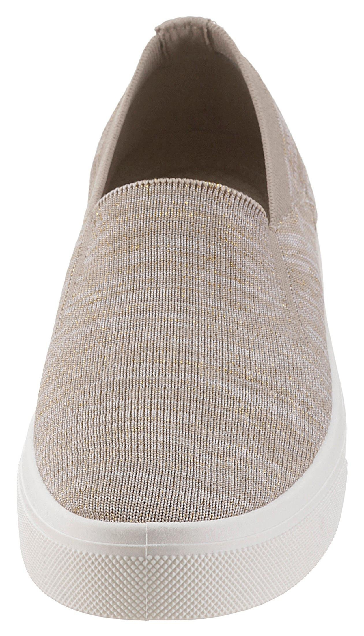 wholesale dealer 62343 729da skechers slip-on sneakers »poppy - cloud dust« beige