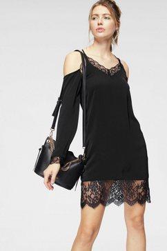 na-kd kanten jurk »927« zwart