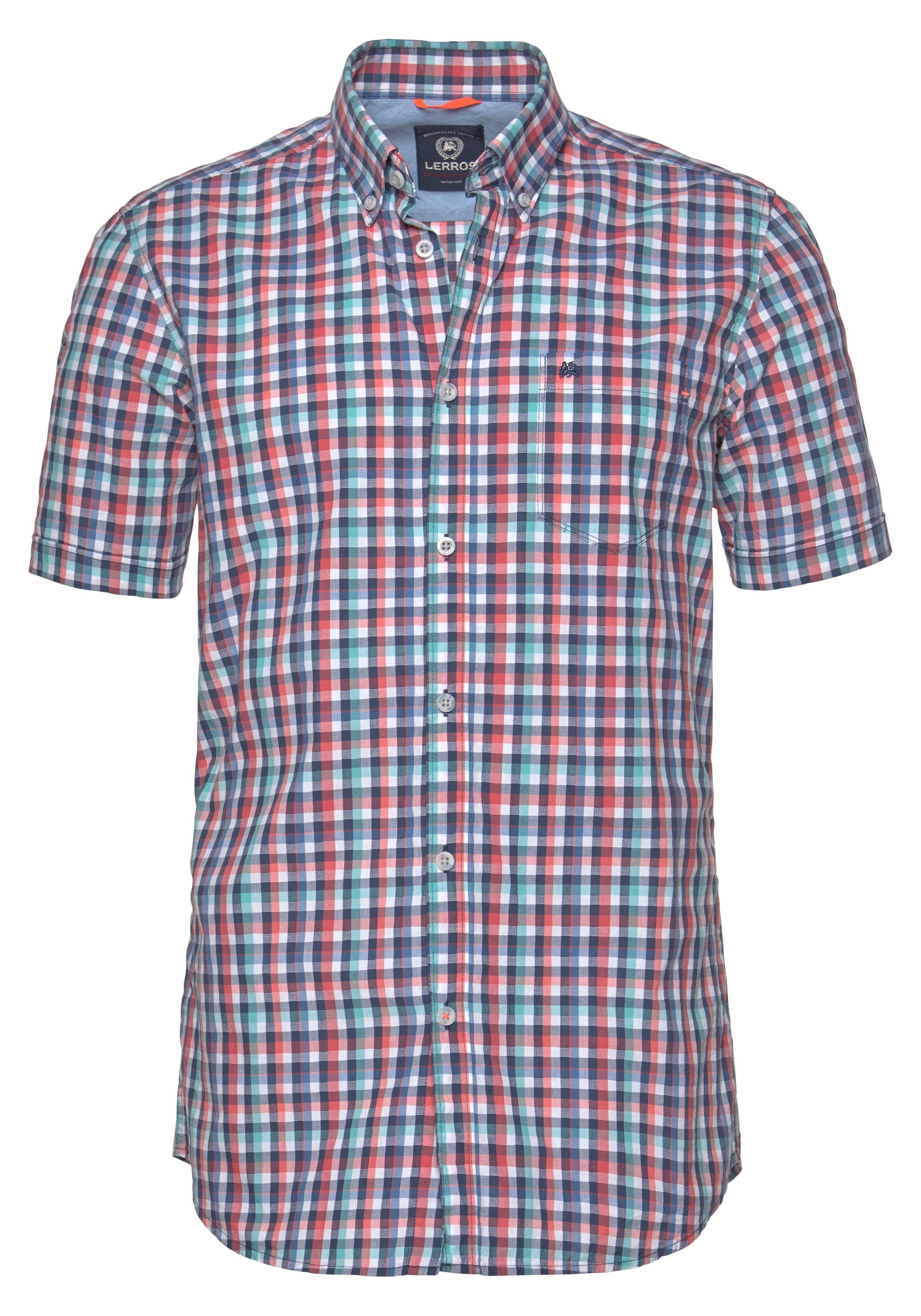 Lerros overhemd met korte mouwen - verschillende betaalmethodes