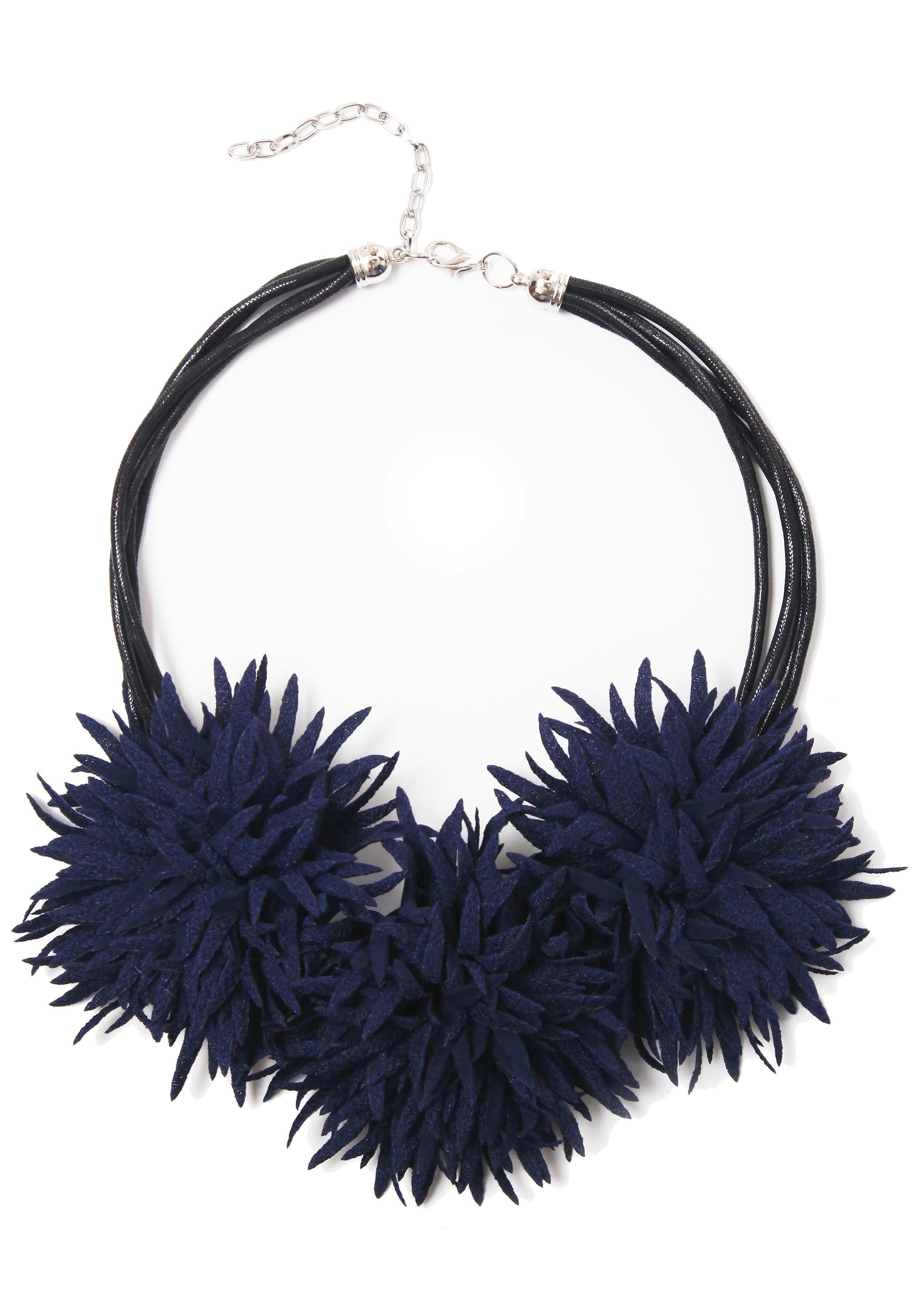 COLLEZIONE ALESSANDRO ketting met hanger Stofbloemen, C2405-F18 voordelig en veilig online kopen