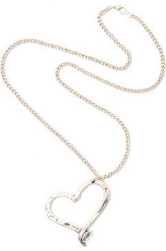 collezione alessandro ketting met hanger »hart, c2349-f107« zilver