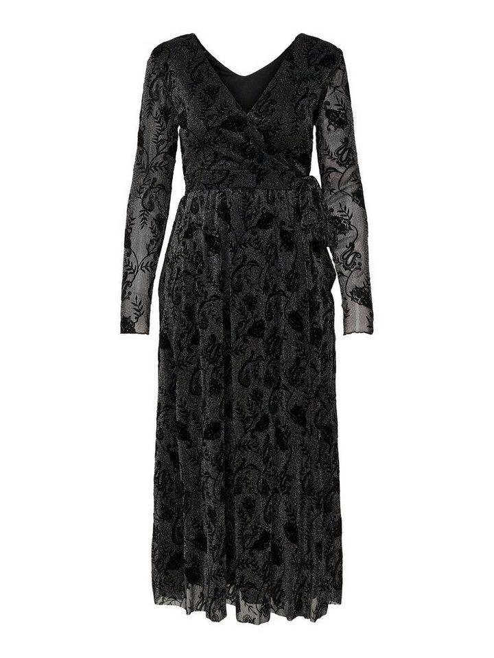 ONLY Longsleeved maxi- jurk zwart