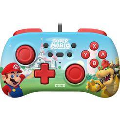 hori controller nintendo switch mini controller - mario rood