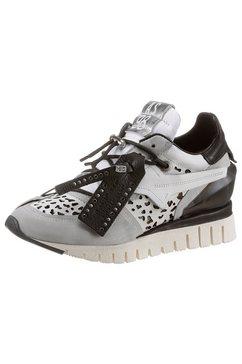 a.s.98 sneakers met sleehak »denastr« wit
