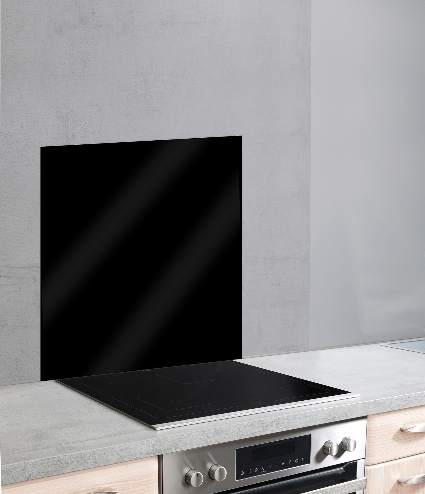 WENKO keukenwand Unikleur unikleurige glazen achterwand (1-delig) bestellen: 30 dagen bedenktijd