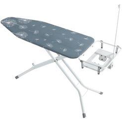 wenko strijkplank met snoergeleiding en stopcontact, »professional« grijs