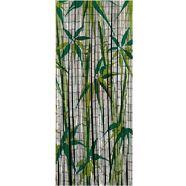 wenko bamboegordijn voor balkon of terras, »bamboo« groen