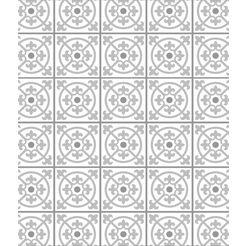 wenko keukenwand tegels decoratieve, gemakkelijk te onderhouden glasplaat (1-delig) grijs