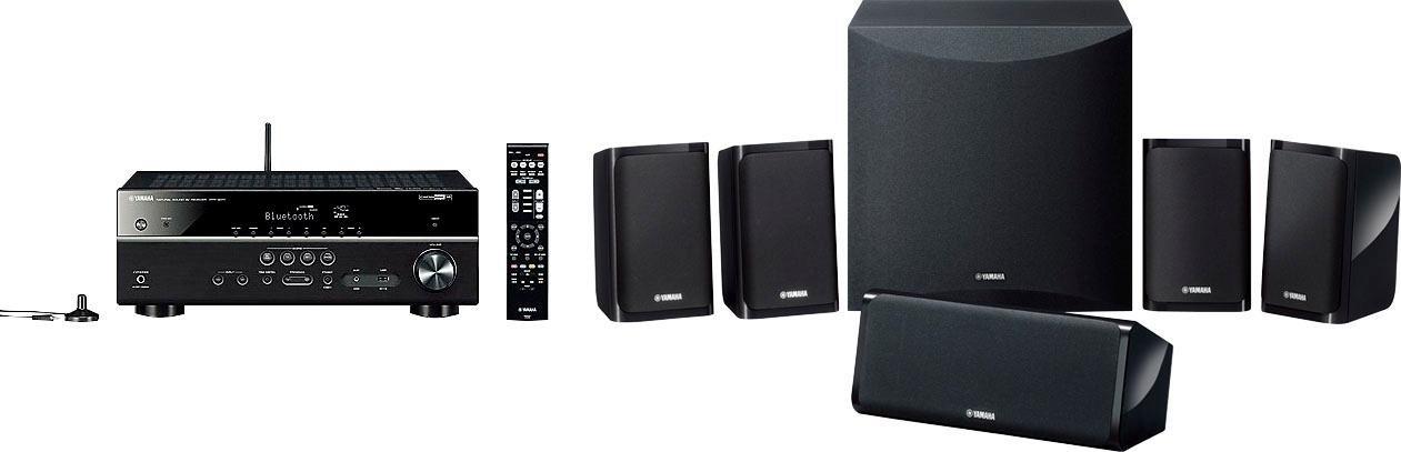 Yamaha »YHT-4950 EU« 5.1-thuisbioscoop (200 W, bluetooth, wifi, 4K-upscalingtechniek, 3D-ready) bij OTTO online kopen