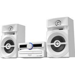 panasonic »sc-ux104« micro-hifiset (bluetooth, digitale radio (dab+), 300 w)
