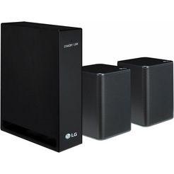 lg »spk8« 2.0-luidsprekersysteem (140 w) zwart
