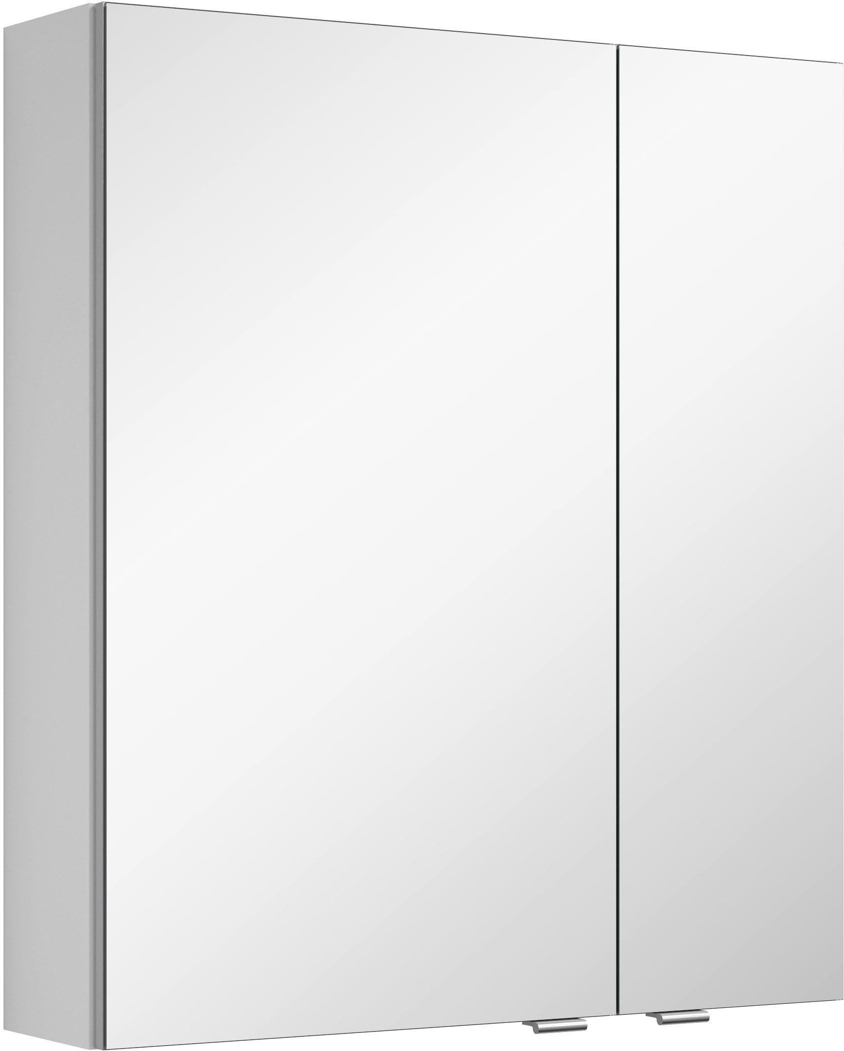 MARLIN Spiegelkast 3980 met dubbelzijdig spiegelende deuren, voorgemonteerd - gratis ruilen op otto.nl