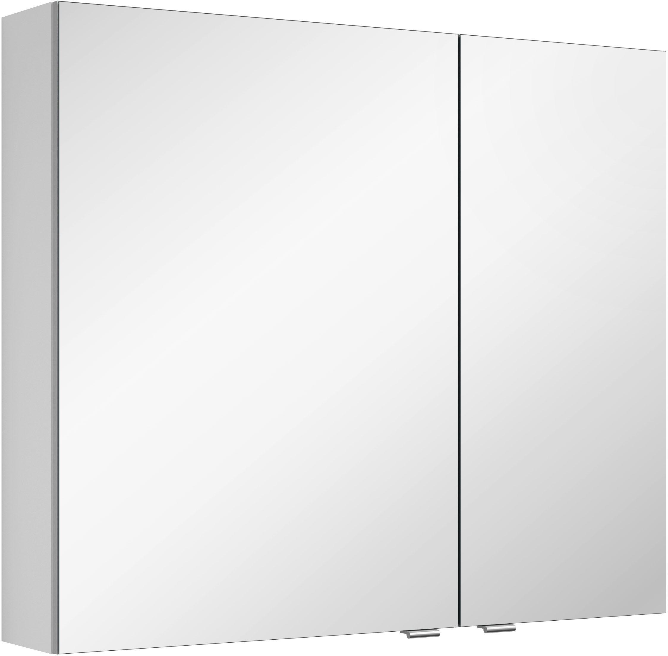 MARLIN spiegelkast 3980 met dubbelzijdig spiegelende deuren, voorgemonteerd online kopen op otto.nl