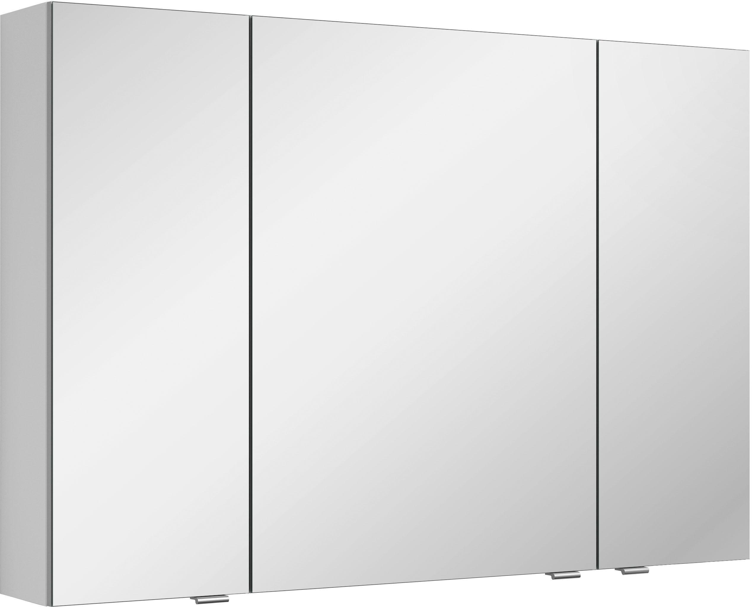 MARLIN spiegelkast 3980 met dubbelzijdig spiegelende deuren, voorgemonteerd nu online bestellen