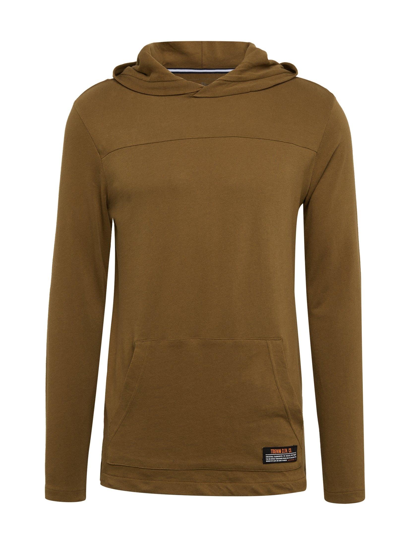 Shirt Met Mouwenhoodie Kangoeroezak Tom Tailor Denim Gekocht Makkelijk Lange hQsrxtCd