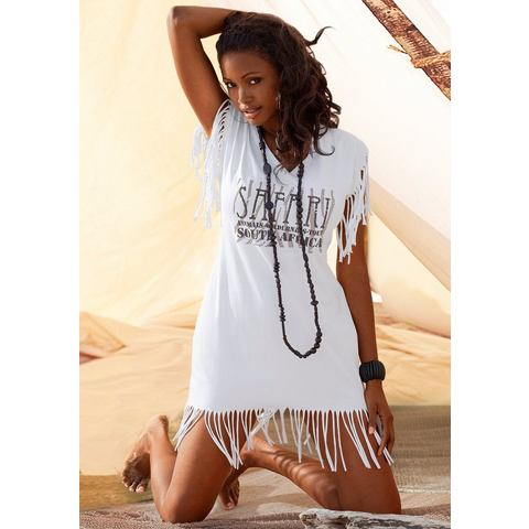 Longline-shirt, BEACHTIME